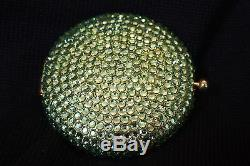 Estee Lauder Crystal Green with powder New extra Swarovski crystals BN