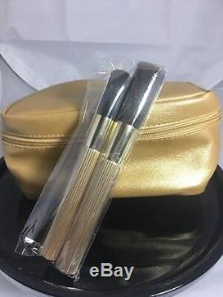 Estee Lauder Deluxe Pure Color Eyeshadow Pallette, Compact, Brush Gift Set New