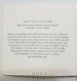 Estee Lauder & Disney Powder Compact Beauty & Beast Belle NIBB