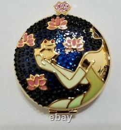 Estee Lauder & Disney Powder Compact Frog Prince Tiana NIBB