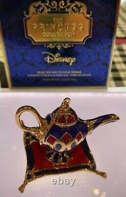 Estee Lauder & Disney Solid Perfume Compact Aladdins Magic Lamp New Contact Me