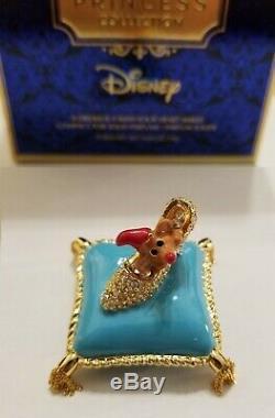 Estee Lauder & Disney Solid Perfume Compact Cinderella A Dream is a Wish NIBB