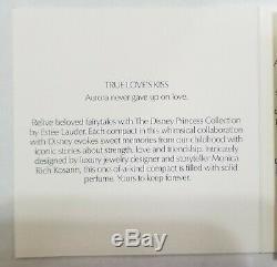 Estee Lauder & Disney Solid Perfume Compact Sleeping Beauty True Love Kiss NBB