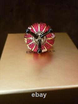 Estee Lauder & Disney True To Your Heart Lantern Solid Perfume Compact Mibb