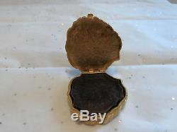 Estee Lauder Dynasty Lion's Head Perfume Compact 1973 Azuree