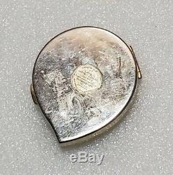 Estee Lauder Enamel Ladybug Lucidity Translucent Pressed Powder Mirror Compact