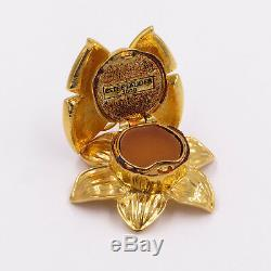 Estee Lauder Enchanted Butterfly Solid Perfume / Compact New 1.75 x 2 x 1