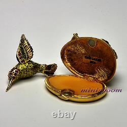Estee Lauder FLUTTERING HUMMINGBIRD Compact for Solid Perfume 2006 New All Boxes