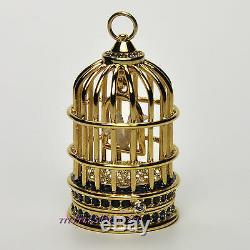 Estee Lauder GILDED BIRD CAGE Beyond Paradise Solid Perfume Compact 2007 NIB