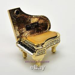 Estee Lauder GLITTERING GRAND PIANO Compact for Solid Perfume 2007 New in Box