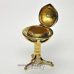 Estee Lauder GLOBE Compact for Solid Perfume 2001 Collection