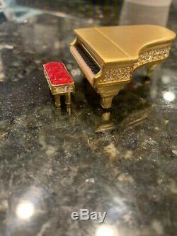 Estee Lauder GRAND PIANO Compact for Solid Perfume 1999