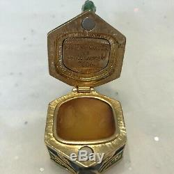 Estee Lauder Garden Teapot Solid Perfume Compact 2006 Beautiful Jay Strongwater