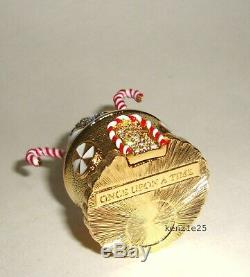 Estee Lauder Gingerbread Cottage Solid Perfume Compact 2018 Empty Ub