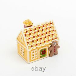 Estee Lauder Gingerbread House Solid Perfume Compact Full