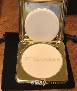Estee Lauder Golden Nights Compact Lucidity 06 Transparent Pressed Powder NIB