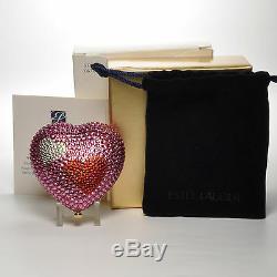 Estee Lauder HEART OF HEARTS COMPACT Lucidity Pressed Powder 0.1 oz 2.8 g NIB