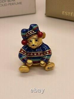 Estee Lauder Harrods 2004 Christmas Teddy Bear Solid Perfume Compact