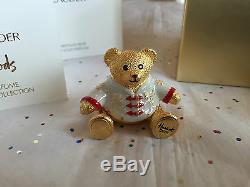 Estee Lauder Harrods 2016 Christmas Bear Solid Perfume Compact Beautiful MIB