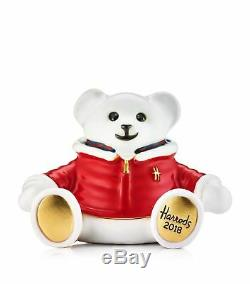 Estee Lauder Harrods 2018 Christmas Bear Oliver MIBB
