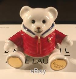 Estee Lauder Harrods 2018 Christmas Bear Solid Perfume Compact Sold Out
