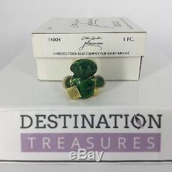 Estee Lauder Harrods Bear Perfume Compact Solid 1ST EDITION 2001 w Box