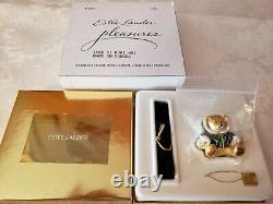 Estee Lauder Harrods Rodney Bear 2001 Solid Perfume Compact Mibb