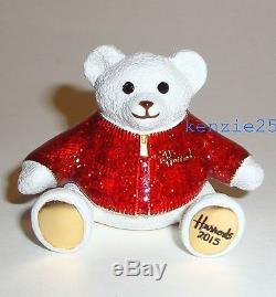 Estee Lauder Harrods Xmas Bear Solid Perfume Compact 2015 Ltd Ed Ub