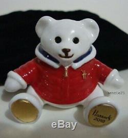 Estee Lauder Harrods Xmas Bear Solid Perfume Compact 2018 Ltd Ed Ub
