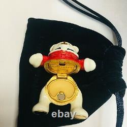 Estee Lauder Harrods Xmas Bear Solid Perfume Compact 2018 Ltd Ed -nib