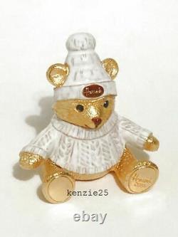 Estee Lauder Harrods Xmas Bear Solid Perfume Compact 2019 Ltd Ed Nwob