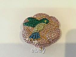 Estee Lauder Humming Bird Lucidity Powder Compact Beautiful! Hummingbird Full