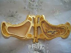 Estee Lauder Ice Skates With Pleasures Solid Perfume Compact 01 Sparkly