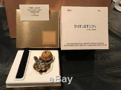Estee Lauder Intuition 2002 Glistening Dragonfly Perfume Compact Jay Strongwater