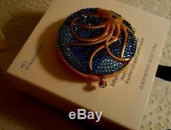 Estee Lauder Intuitive Octopus Magical Surroundings Crystals Powder Compact NIB