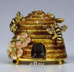Estee Lauder Jay Strongwater Beehive Beautiful solid perfume