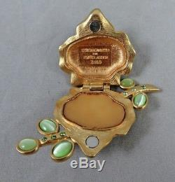 Estee Lauder Jay Strongwater Sensuous Vibrant Violet Solid Perfume Compact