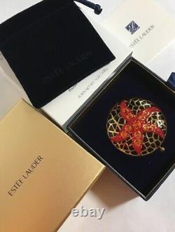 Estee Lauder Jeweled Starfish Compact Pressed Powder 01 TRANSLUCENT NIB