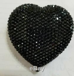 Estee Lauder Kathrine Baumann Powder Compact Black Heart MIB