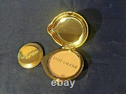 Estee Lauder LADY BEETLE BUG Lucidity Pressed Powder Compact with Pouch and Box