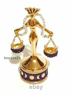 Estee Lauder Lady Justice Solid Perfume Compact 2019 Nwob