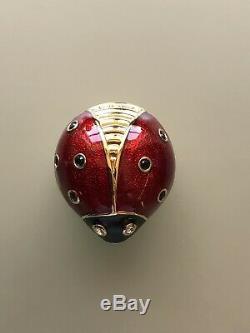 Estee Lauder Ladybug Perfume Compact
