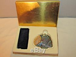 Estee Lauder Lucidity Compact Pressed Powder Shore Things Blue Sea Shell New Nib