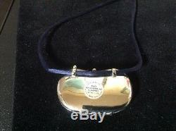 Estee Lauder Moon Bean Estee Fragrance Compact Pendant for Solid Perfume 1975