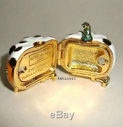 Estee Lauder Off To The Ball Solid Perfume Compact 2018 Pumpkin Coach Empty Ub