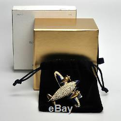 Estee Lauder PRECIOUS PLANE Compact for Solid Perfume 2007 New with all Boxes
