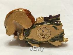 Estee Lauder Perfume Compact 2003 Fiery Fox Mint White Linen Jay Strongwater
