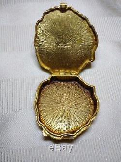 Estee Lauder Perfume Compact Lion's Head 1973 Azuree No Perfume