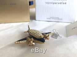 Estee Lauder Perfume Compact Rare 2007 Precious Plane Mibb Gorgeous Sparkly