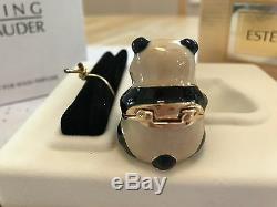Estee Lauder Perfume Compact Sitting Panda Knowing Mibb Cute